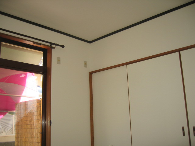 真っ白なお部屋の完成です!